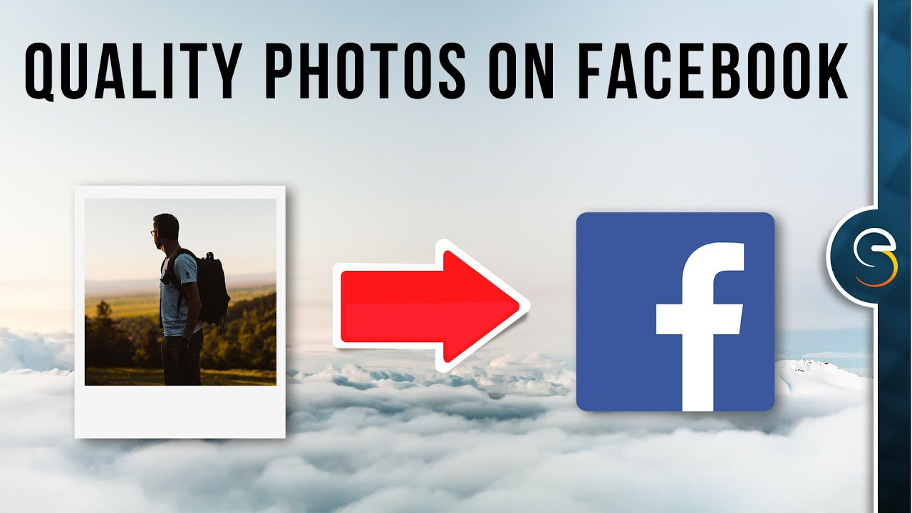Upload photos to Facebook without losing image quality