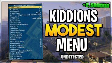 kiddions mod menu 2021
